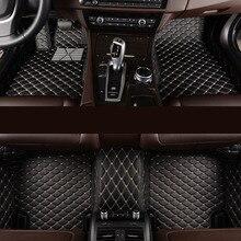 kalaisike Custom car floor mats for Jeep All Models Grand Cherokee renegade compass Commander Cherokee car styling accessories