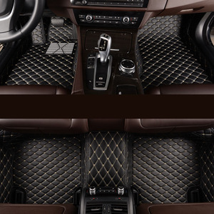 Image 1 - kalaisike Custom car floor mats for Jeep All Models Grand Cherokee renegade compass Commander Cherokee car styling accessories