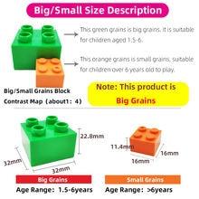 Gorock Animal Zoo Big Size Building Block Brick Set Dinosaur Elephant Model Figures Compatible With Duplo