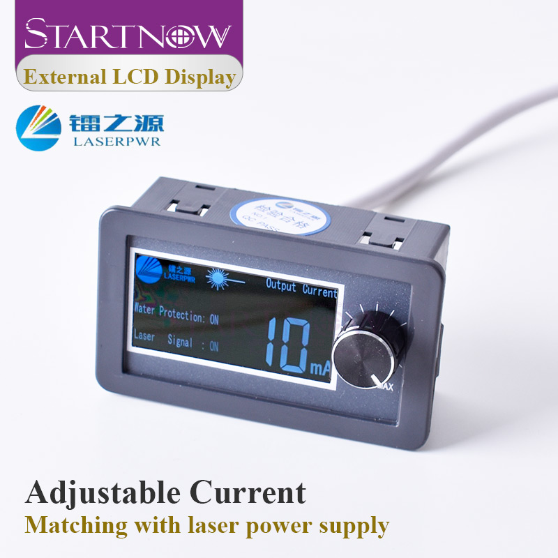HY Series LCD Display Test Device Monitor For DIY CO2 Laser Power Supply External Screen Current Meter Laser Spare Parts