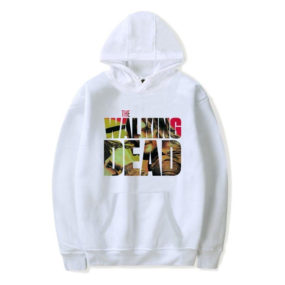 Autumn Hoodies The Walking Dead Season 10  Men's / Women's Hoodie Sweatshirt Hooded Women Men Loose Clothes Tops Sudadera Hombre