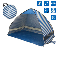 Quick Automatic Opening Tents Outdoor Camping Fishing Hiking Beach Shade Pop Up 2 Person Tent Anti UV Naturehike Shelter Protect