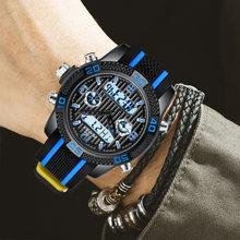 Часы мужские кварцевые в стиле милитари повседневные спортивные