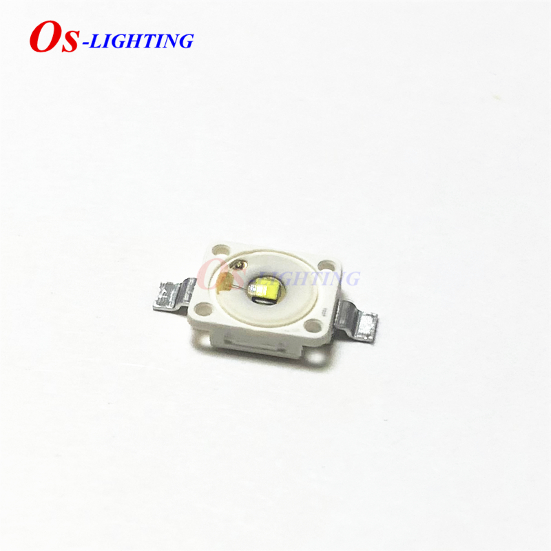 10PCS LUW W5AM LUWW5AM 350mA 3,2 V <font><b>1W</b></font>-3W WEIß SMD <font><b>LED</b></font> mit Konvexen spiegel 7.0*6,0mm (LUW W5AM-KZLY-5F8G) image