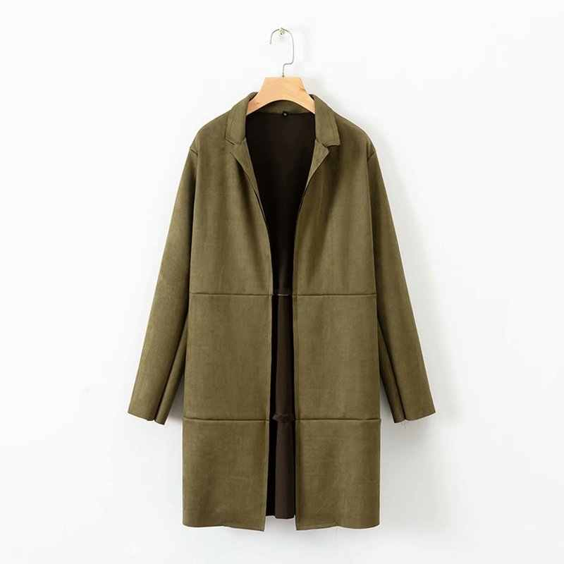 Europejski i amerykański płaszcz z zamszu mody XD50-2755