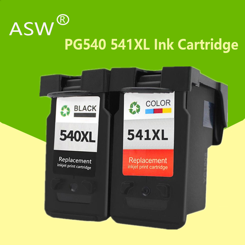 ASW PG-540 CL-541 For Canon PG540XL CL541XL Ink Cartridge Pg 540 For Pixma MG4250 MG3250 MG3255 MG3550 MG4100 MG4150 Printer