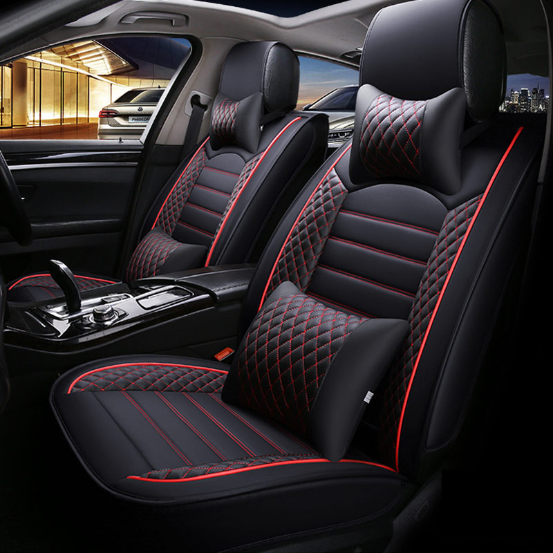 2020 New <font><b>Car</b></font> <font><b>Seat</b></font> <font><b>Covers</b></font> For <font><b>Mercedes</b></font> Benz A C W204 W205 <font><b>W211</b></font> W212 W213 S class CLA GLC ML GLE GL Auto PU Leather <font><b>Seat</b></font> Cushion image