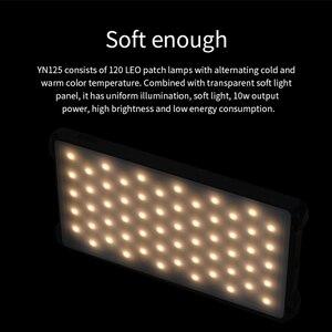 Image 5 - Yongnuo YN125 LED lampa wideo lampa błyskowa Vlog kamery oświetlenie stock nagrywania do aparatu DSLR Studio akcesoria