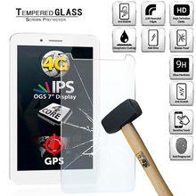 Capa protetora de tela de vidro temperado tablet para allview viva h7 cobertura completa anti-impressão digital filme protetor de tela