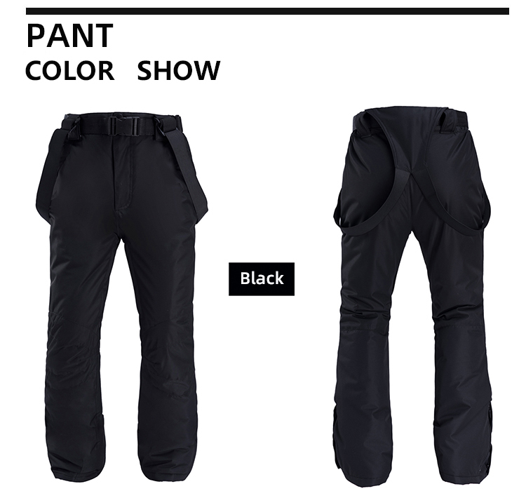 New Outdoor -35 Degree Snow Pants Plus Size Elastic Waist Lady Trousers Winter Skating Pants Skiing Outdoor Ski Pants for Women 64