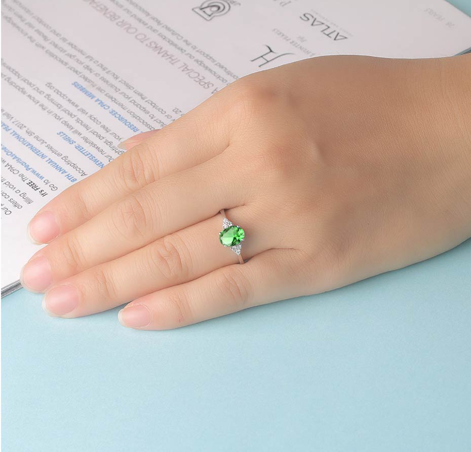 H8ded0b557bdd416f8342d03fbb64989cG Kuololit Diaspore Zultanite Gemstone Ring for Women Solid 925 Sterling Silver Color Change Ring for Wedding Engagement Jewelry