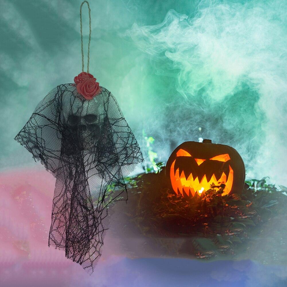 1 Stucke Halloween Hangen Dekorationen Schadel Kopf Spukhaus Bar Home Garten Halloween Dekoration Foto Film Requisiten Heisser Verkauf Party Diy Dekorationen Aliexpress
