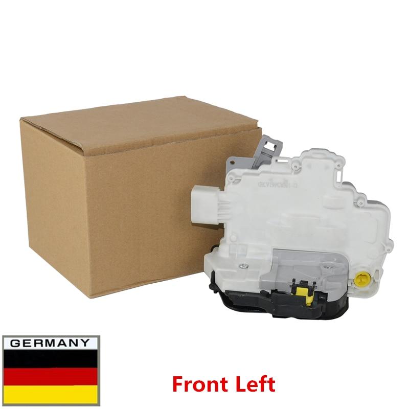 AP01 nowy 4F1837015 8E1837015AA 4F1837015E dla Audi A3 A4 A6 C6 A8 R8 Seat Exeo ST zatrzaskowy zamek drzwiowy z przodu z lewej strony