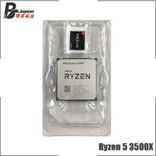 AMD Ryzen 5 3500X R5 3500X 3.6 GHz altı çekirdekli altı iplik CPU işlemci 7NM 65W L3 = 32M 100-000000158 soket AM4 yeni ama fan olmadan