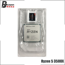 CPU Processor R5 3500x3.6-Ghz Amd Ryzen AM4 Six-Core 7NM But 65W New L3--32m 100-000000158-Socket