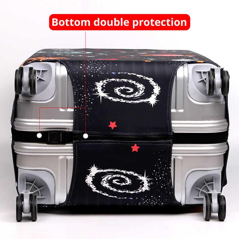 בואו ללכת נסיעות אלסטי בד לשמירת מגן כיסוי Fit 18-32 אינץ עגלת מזוודת מקרה אבק כיסוי נסיעות אביזרי xt910
