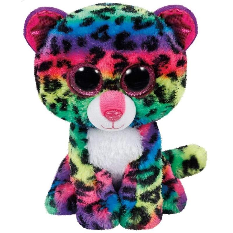 Ty Dotty The Leopard Plush Animal Toys Stuffed Doll Gift 15cm