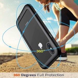 Image 2 - Ударопрочный чехол для iPhone 7 8 Plus X XS XR 11 Pro Max полный корпус Броня бампер противоударный Прозрачный чехол для 11pro Coque