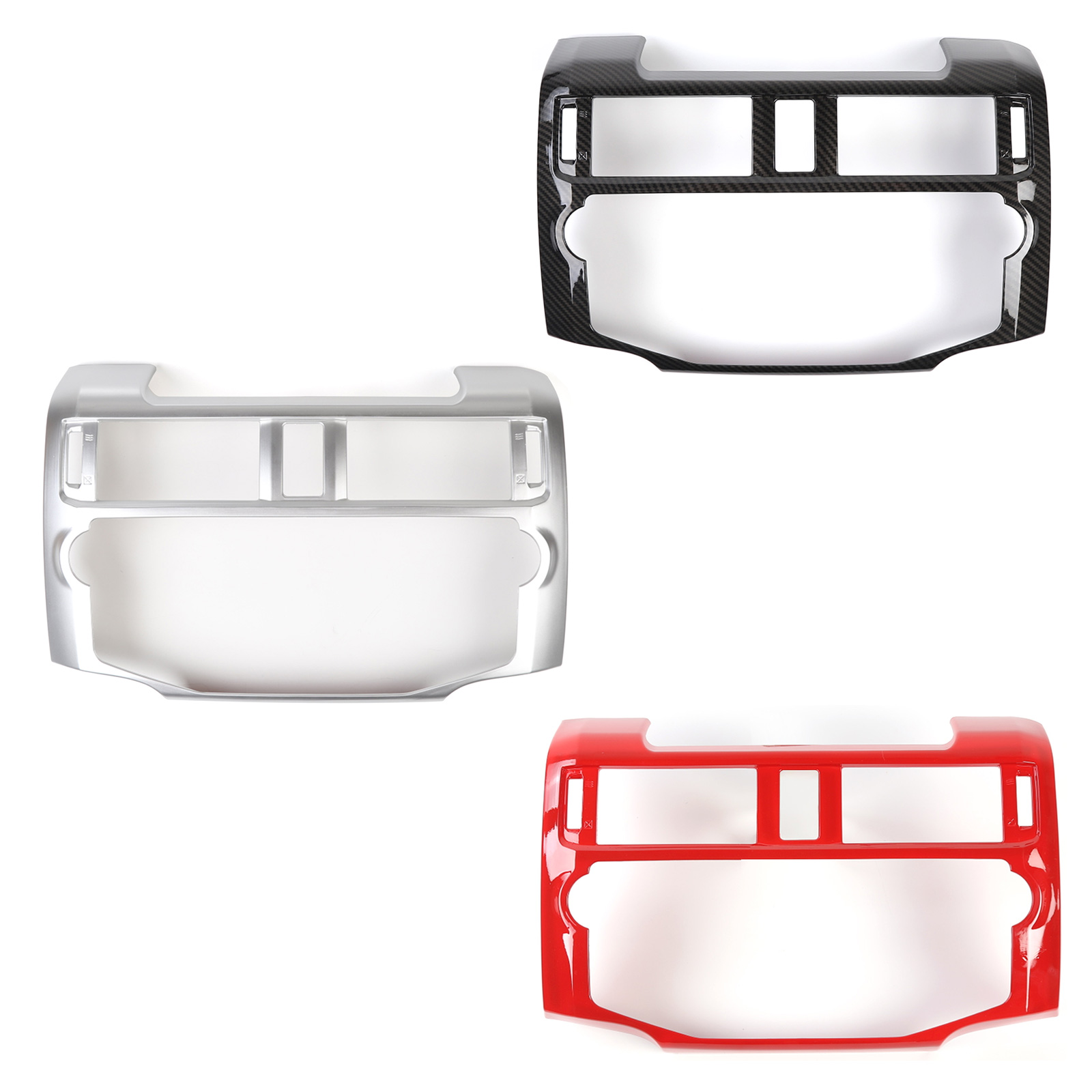 Areyourshop Central Control Navigation Panel Trim Cover For <font><b>4Runner</b></font> <font><b>2010</b></font>+ Central Control Frame Trim Cover Car Auto Parts image