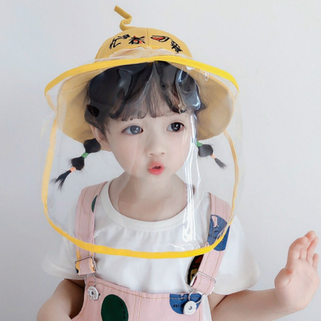child Multifunctional protective cover virus protective cap eye protection fog windproof anti-saliva cap face shield