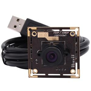 Image 2 - 1080P USB веб камера высокая скорость без искажений объектив CMOS 2MP Full HD мини USB 2,0 модуль камеры для Android,Linux ,Windows,MAC OS