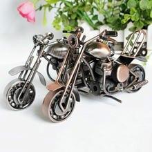 Украшение для дома металлическая модель мотоцикла ручной работы