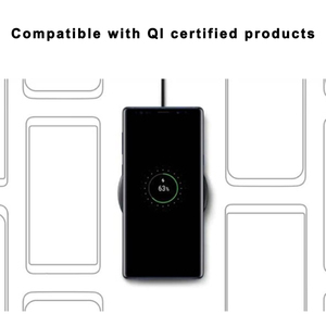 Image 5 - EP P1100 10W Fast QI Wireless Charger Pad For SAMSUNG Galaxys S10 S10E S9 S8 S7 edge Plus W2017 Kelly Fold Note 9 8 7 FE S lite