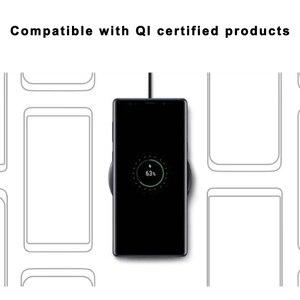 Image 5 - EP P1100 10W Veloce Qi Wireless Pad Caricabatterie per Il Samsung Galaxys S10 S10E S9 S8 S7 Bordo Più W2017 Kelly note Volte 9 8 7 Fe S Lite
