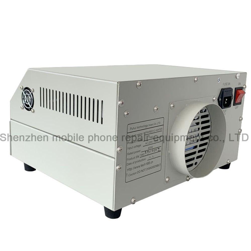 PUHUI T-962A infravörös IC fűtőtest reflux sütő BGA SMD SMT - Hegesztő felszerelések - Fénykép 6