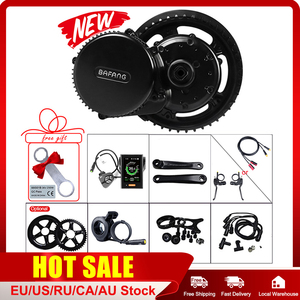 Image 1 - Bafang 36V 250W אמצע מנוע e אופני DIY ערכות המרה BBS01B מנוע P850C C965 500C תצוגה יציבה ערכות עבור E אופני BB 68 73mm