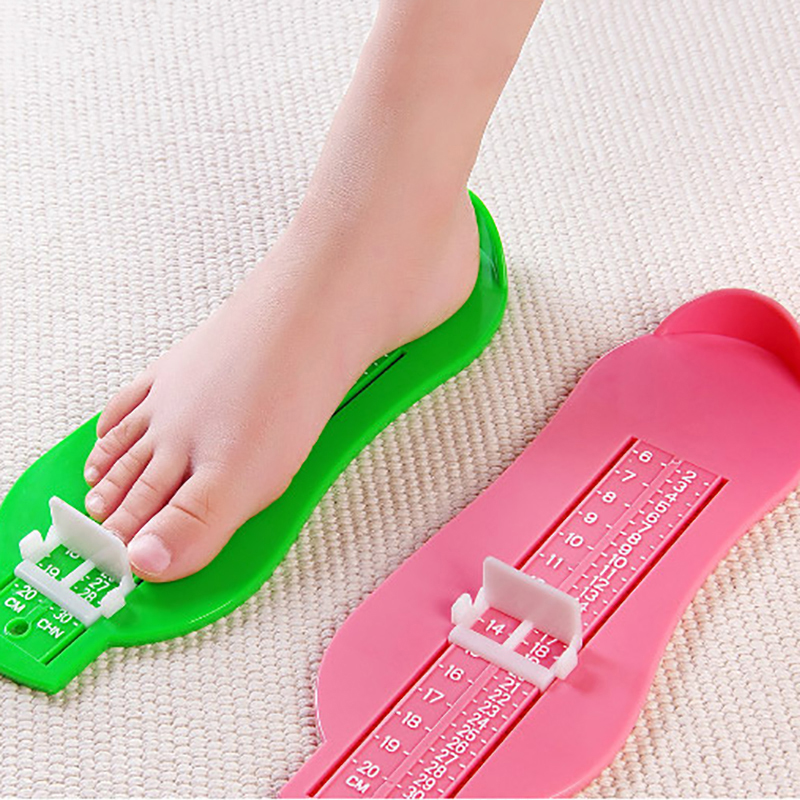 Kid Infant Foot Measure Gauge Shoes Size Professional Measuring Ruler Tool Available ABS Baby Car Adjustable Range 0-20cm