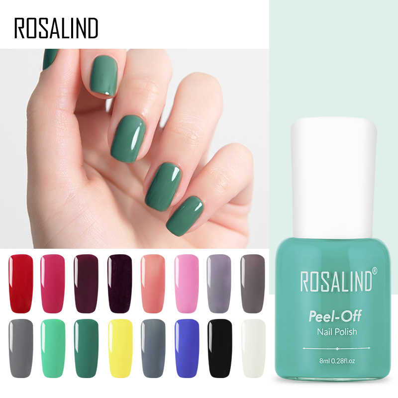 ROSALIND Fashion Nail Polish Fast Dry Nail Art Gel Varnish Nail Polish 18  colors Optional DIY Nail Beauty Tools Hot Sale