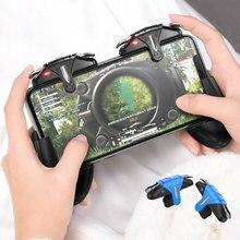 Mando para móvil PUBG, 30 disparos por segundo, gatillo para juegos L1R1, botón de disparo de puntería para PUBG, juego para teléfono Pad