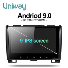 Uniway AXH59081 2G+32G android 9.0car dvd for Great Wall Haval H3 H5 car radio naviagtion with steering wheel support wifi 4g(China)