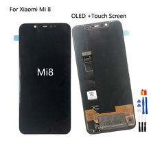OLED For Xiaomi Mi 8 Screen LCD Display Touch Screen Digitizer Repair Parts For Xiaomi Mi8 Screen LCD Display Replacement