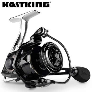 KastKing Megatron 18KG Max Drag Carbon Drag Spinning Fishing Reel With Large Spool Aluminum Body Saltwater Spinning Fishing Reel - DISCOUNT ITEM  48 OFF Sports & Entertainment