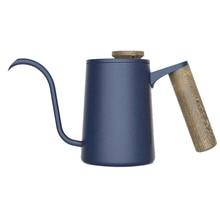 Горячая 350 мл нержавеющая сталь кофейник чайник гусиная шея носик чайник бариста инструменты