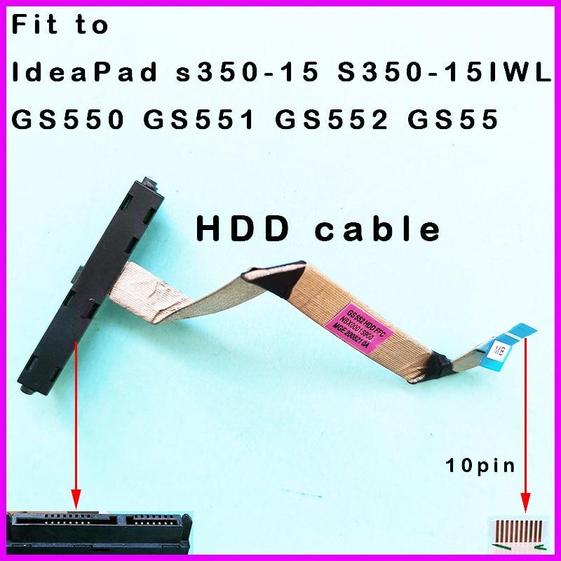 Новый HDD жесткий диск Соединительный кабель для Lenovo IdeaPad s350-15 S350-15IWL GS550 GS551 GS552 GS55 NBX0001S900