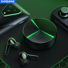 N719 TWS Wireless Bluetooth Earphone bluetooth 5.0 Earbuds HD Stereo Built-in Mic voice Touch Control Wireless Game Headphones