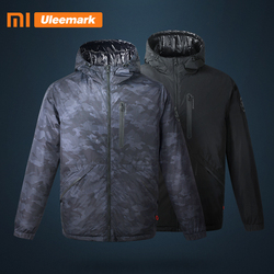 Xiaomi  Uleemark Men's Electric Heated Heating Down Jacket Coat  Upgraded Lightweight Water Resistant parka Coat Mijia Youpin