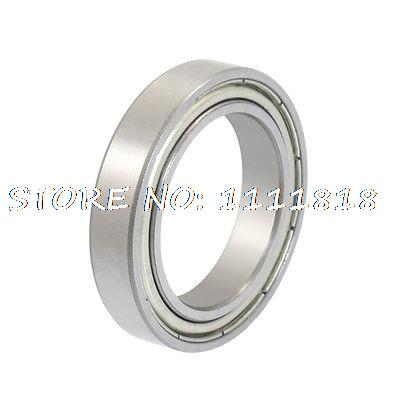 25 X 37 X 7mm Dual Shielded Deep Groove Radial Ball Bearings 6805