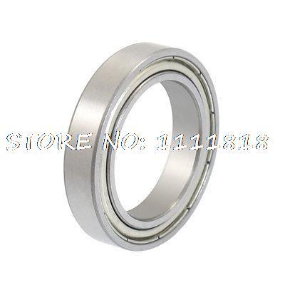 25 X 37 X 7mm Dual Shielded Deep Groove Radial Ball Bearings 6805