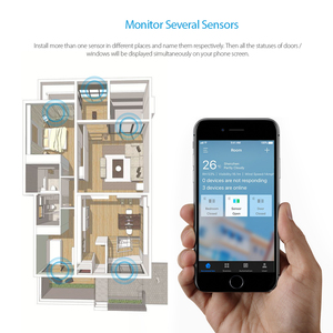 Image 3 - Koogeek אלחוטי אבטחת בית מעורר חלון דלת חיישן גלאי APP מרחוק גישה הדק אוטומטי בית מעורר מערכת