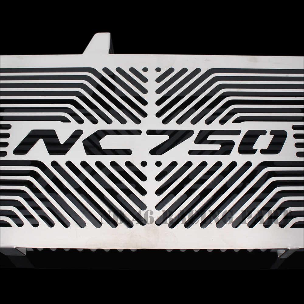 ملحقات الدراجة النارية الفضية واقي شبكة الرادياتير غطاء الشواية لهوندا NC750/S/X NC750S NC750X NC 750/750 S/750X