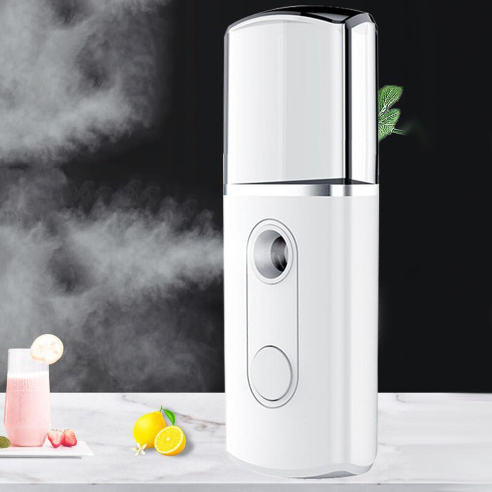 Portable Handheld Nanomist Hydrating Beauty Device USB Facial Steamer Humidifier Cool Mist Can Help Shrink Pores, Deep Hydrating