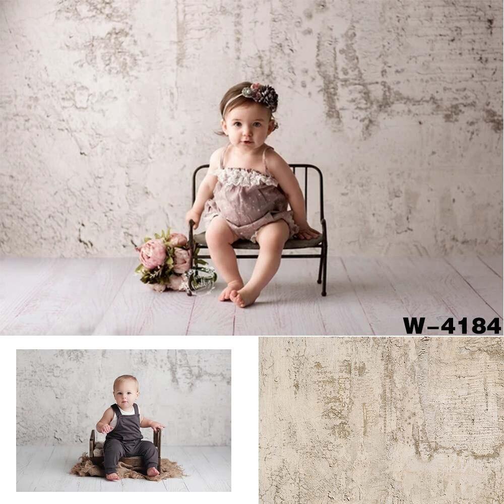 Rústico bege cimento fundo da parede de concreto textura pano de fundo foto estúdio cabine bebê criança retrato evento festa photoshoot decorações