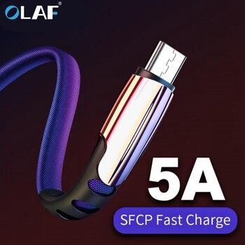 Micro Cavo USB 5A Veloce di Ricarica USB di Sincronizzazione di Dati Adattatore Del Telefono Mobile Cavo del Caricatore Per Sams 1