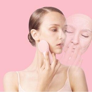 Image 3 - אקולוגי שרשרת מותג DEERMA חשמלי פנים ניקוי ניקוי פנים מכשיר יופי טיפוח עור פנים לעיסוי כלי