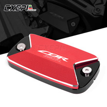 For HONDA CBR650R 2019-2020 CB650R 2019-2020 New Motorcycle CNC Aluminum Front Brake Fluid Reservoir Cap Cover With LOGO CBR650R(China)