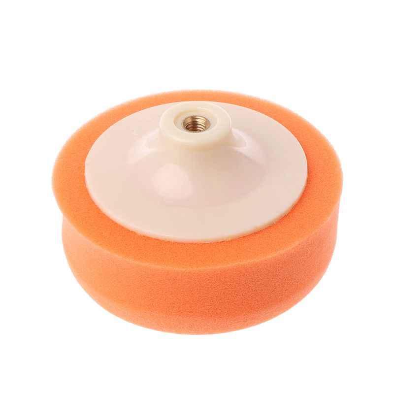 125 Mm 175 Mm Auto Mobil Polishing Buffing Polishing Pad Sponge Roda Waxing Orange Polishing Mesin Aksesoris